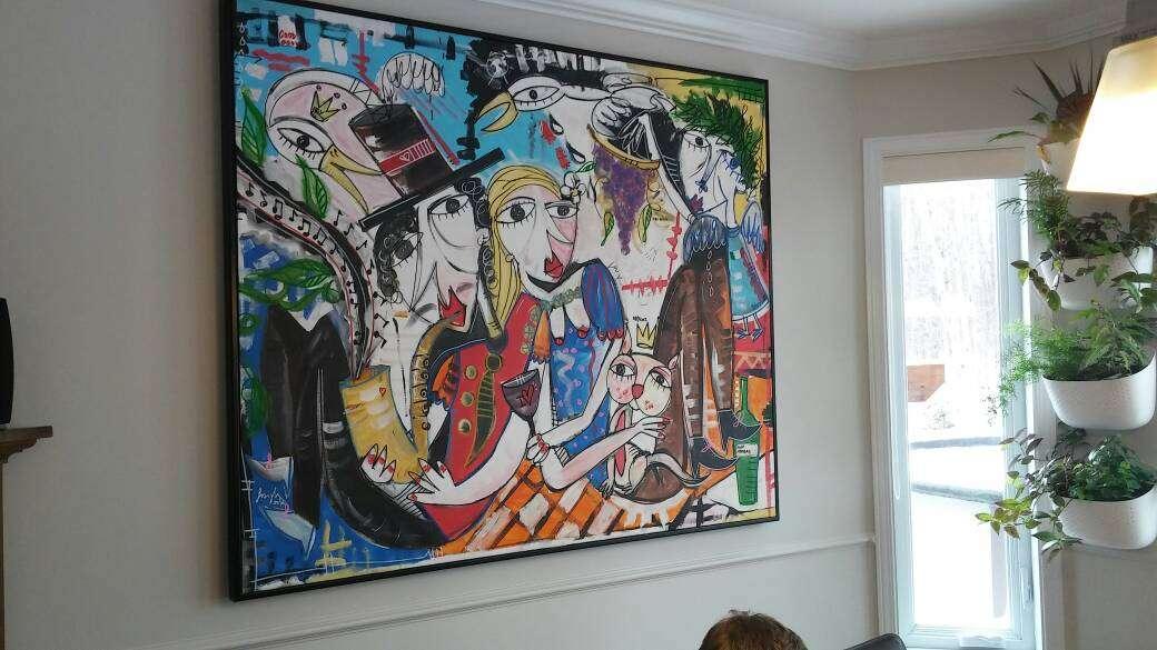 Quadri per arredamento casa pezzi unici dipinti a mano - Quadri per casa moderna ...