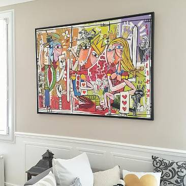 quadri per arredamento casa-quadri moderni dipinti a mano su tela-alessandro siviglia