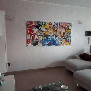 Quadro moderno soggiorno