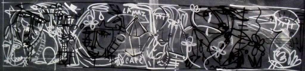 dipinto moderno arte contemporanea