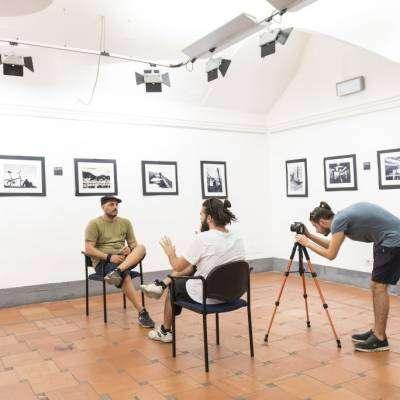 intervista alessandro siviglia - Mostra di pittura presso il Palazzo Velli