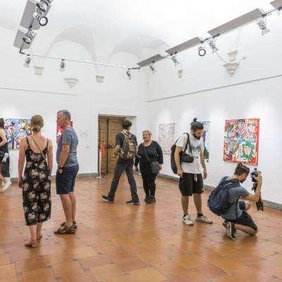 Mostra di pittura presso il Palazzo Velli - Esposizione di quadri moderni