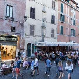 roma trastevere palazzo velli piazza sant' egidio
