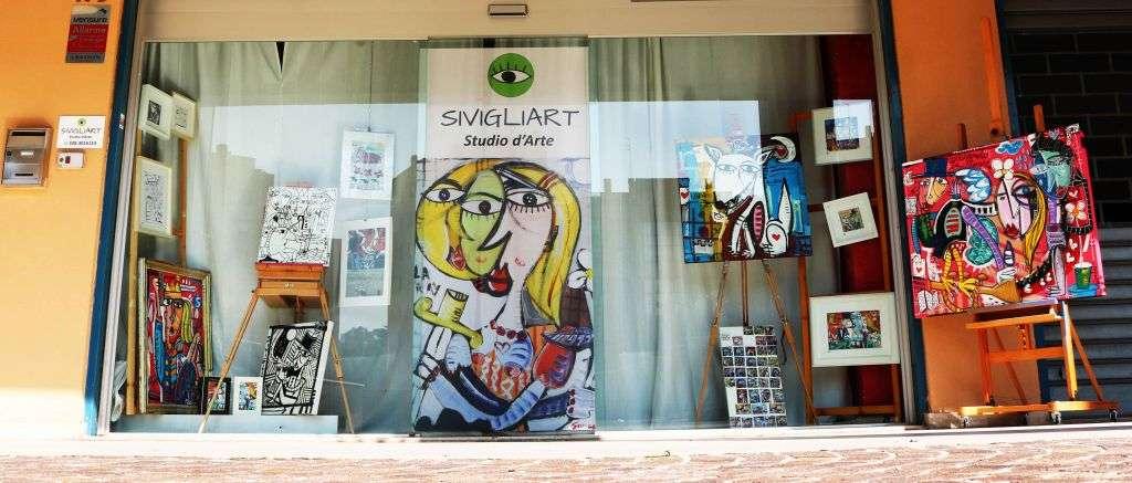 vendita quadri moderni dipinti a mano-studio artista alessandro siviglia