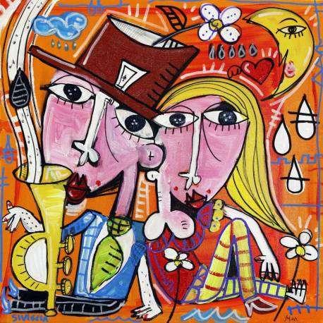 quadro romantico e decorativo, ideale come regalo nozze