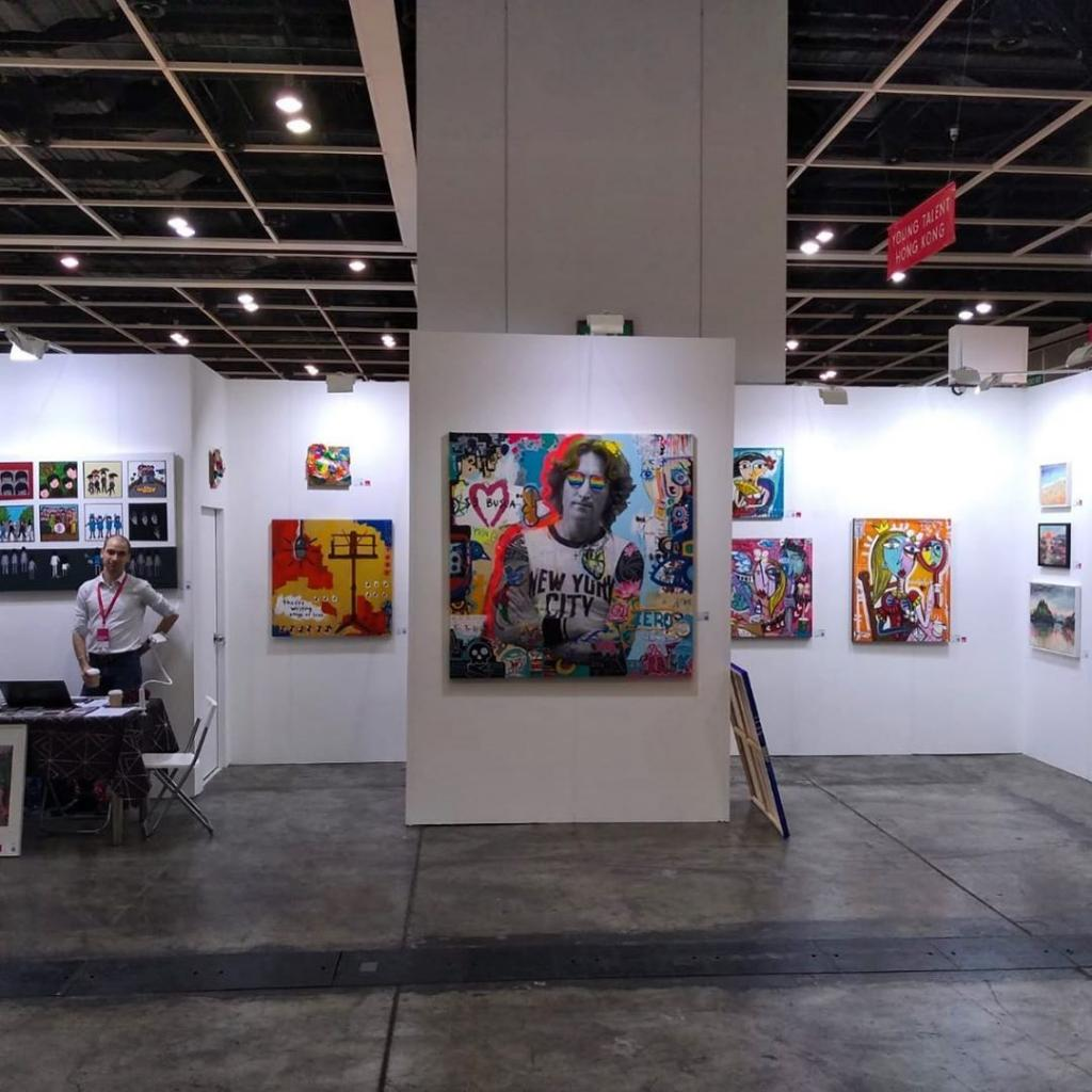 Affordable Art Fair Hong Kong 2019 - foto della mostra