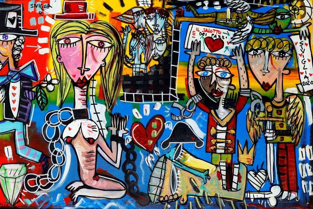Scegli il tuo dipinto unico Alessandro Siviglia