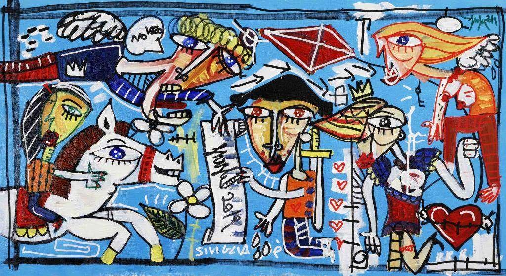 quadro moderno su teuadro moderno su tela pezzo unico dipinto originale azzurro, colori freddi azzurro, celeste, celestino, blù, quadri moderni astratti su tela pronti da appendere