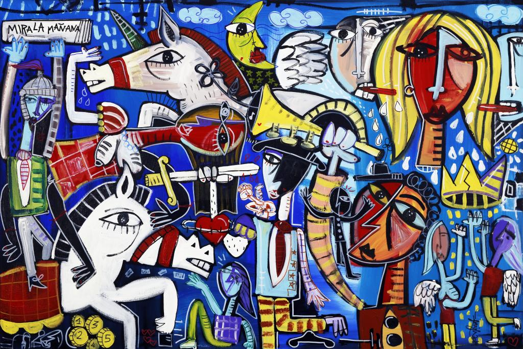 Vendita quadri moderni dipinti dall'artista Alessandro Siviglia