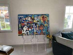 dipinto arte contemporanea acquistato da un collezionista svizzero
