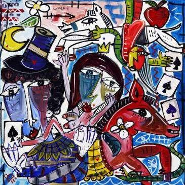 Alessandro Siviglia gioca con il mondo degli artisti