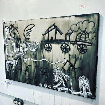 Dipinti unici realizzati e pensati per lo studio di avvocati e giudici